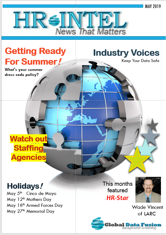 HR Intel Newsletter May Issue