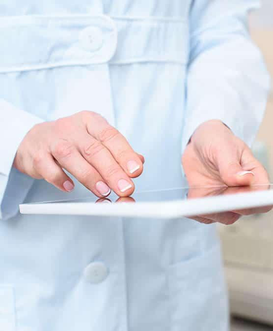 man performing healthcare oig exclusion screening